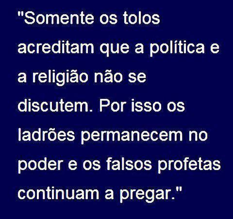 politica e religiao