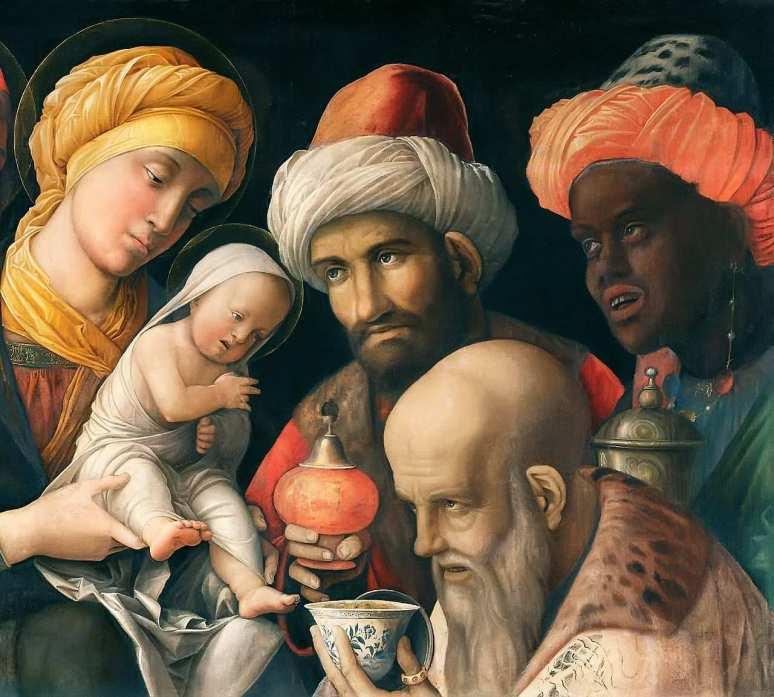 Reis Magos, Andrea Mantegna 1280