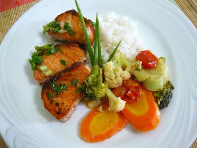 Salmão c arroz basmati e legumes ao curry (9)