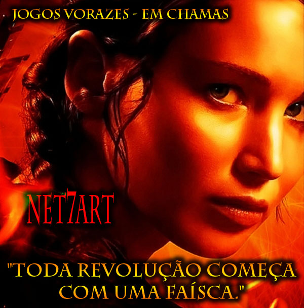 the-hunger-games -catching-fire-poster Jogos Vorazes - Em Chamas frases